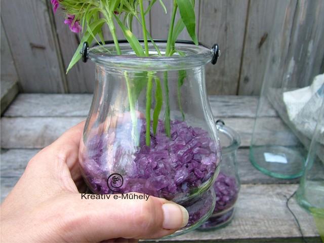 3 szuper kreatív ötlet üveggranulátummal