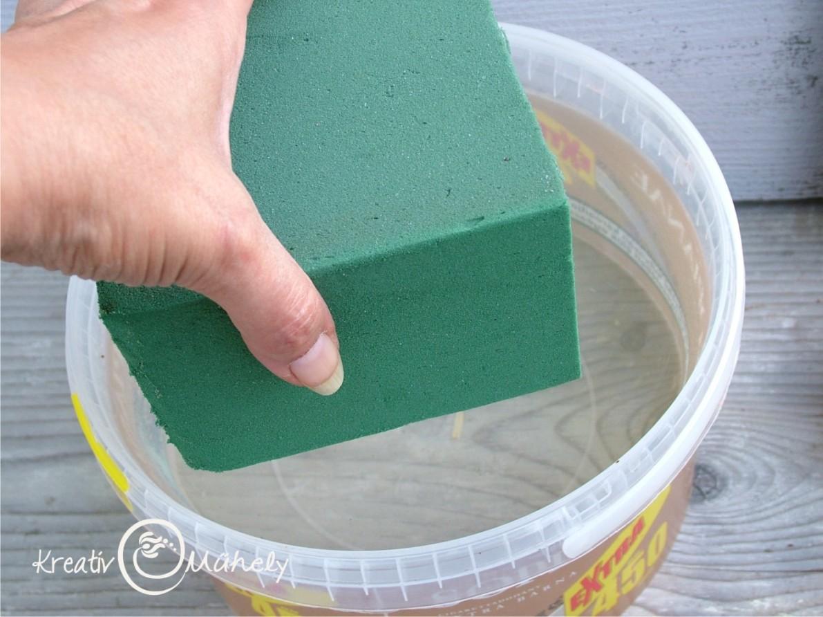 Útmutató a vizes tűzőhab helyes használatához